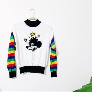 Trippy Mickey Sweater